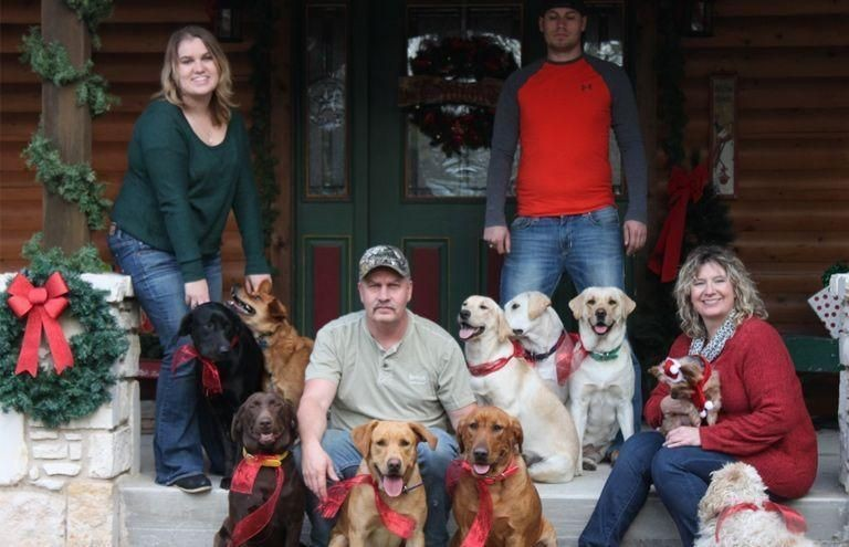 All of us together in Christmas 2014